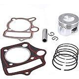 Amazon com: 52mm Cylinder kit Piston Rings set 110cc Engine