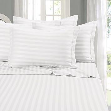 Nimbus Linens Flat Sheet   HIGHEST QUALITY 100% Egyptian Cotton 600 Thread  Count Bedding