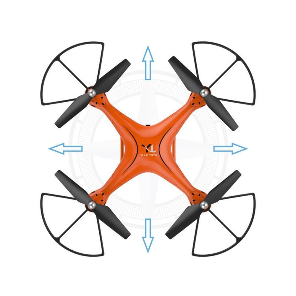 OOFAY® Drohne mit Kamera S10 Quadcopter Aerial Drone Höhen Fernbedienung Flugzeug Orange