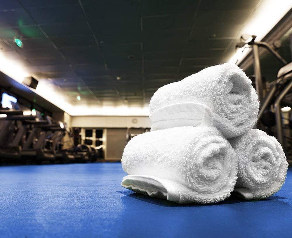 "Simpli-Magic Cotton Washcloths White, 40 Pack, Size: 12""x12"": Kitchen & Dining"