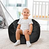 ANUWAA Kids Bean Bag Chairs, 2 Foot Memory Foam Bean Bags for Kids, Fluffy Couch with Ultra Soft Removable Microsuede Cover,
