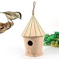 Rameng Bird House Bird Box-Vogelfutterstation, Garten Außen aus Holz