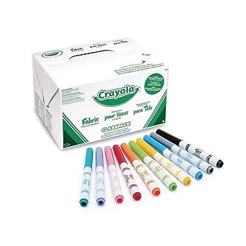 Crayola 588215 Fabric Marker Classpack