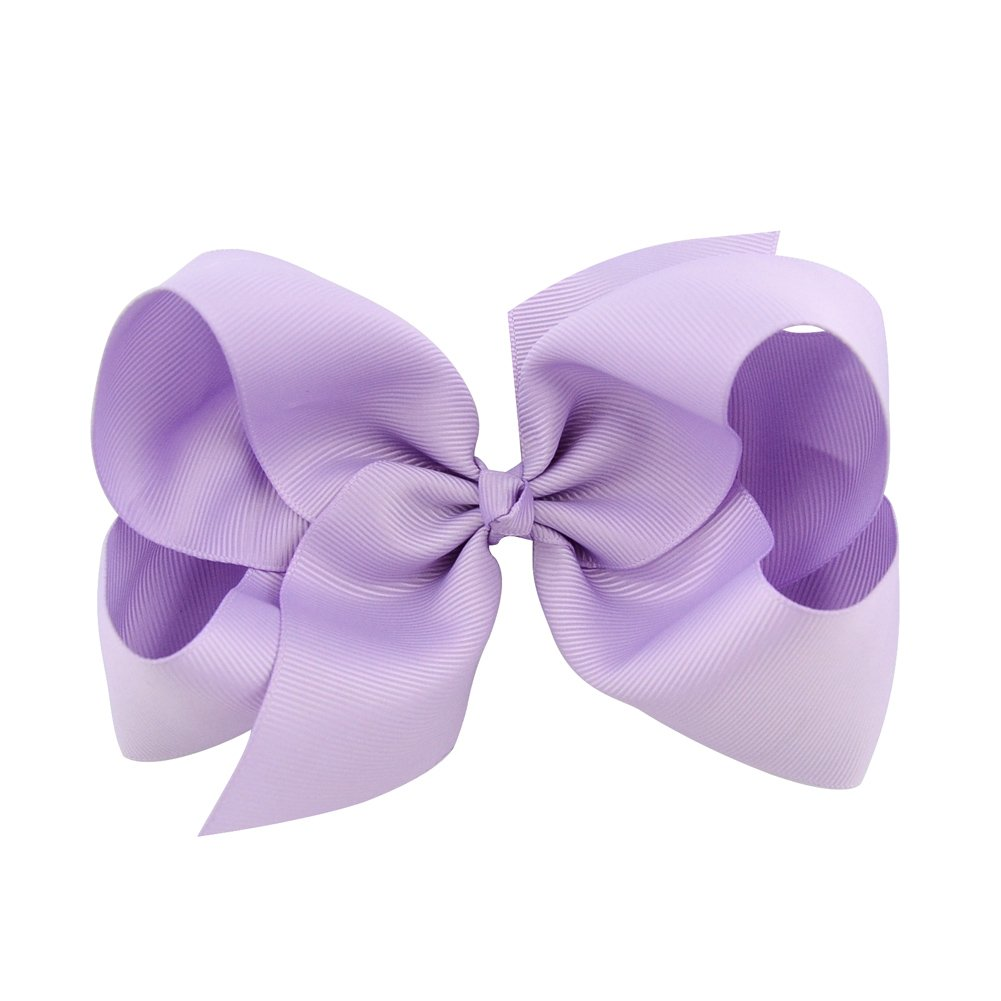 6 Inch Large Baby Hair Bows Barrettes Clip Holders Accessories For Toddler Girls 15 pcs by YHXX YLEN (Image #6)