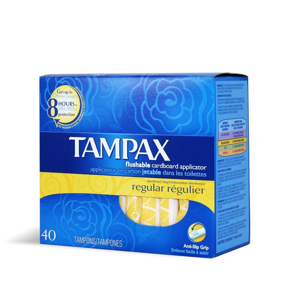 Tampax Tampon Regular 40 Ct