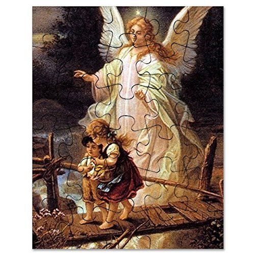 - CafePress - Guardian Angel - Jigsaw Puzzle, 30 pcs.