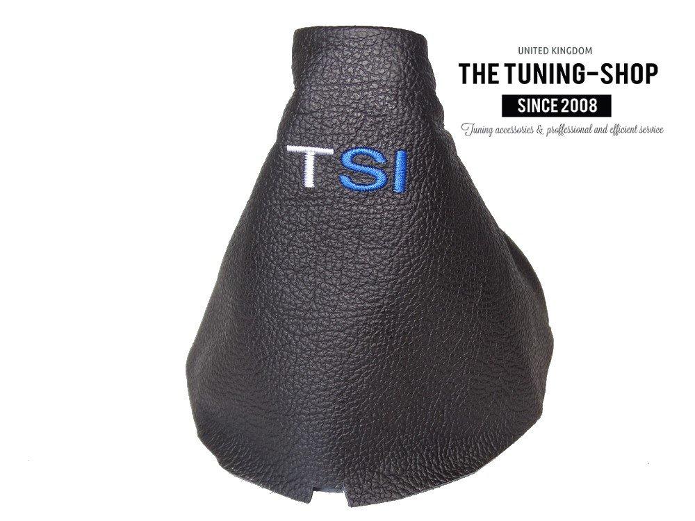 Black Leather The Tuning-Shop Ltd H8-5UT0-U8AN Gear Gaiter