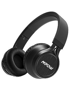 c242483ec8a Mpow Thor Wireless Headphones, 40mm Dual Driver, Bluetooth Headphones  Foldable with Mic, Wireless