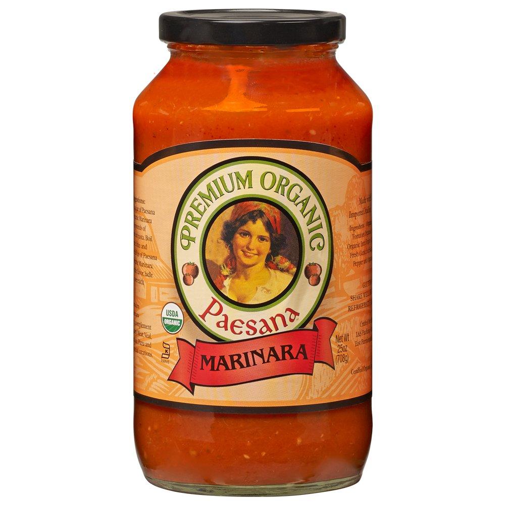 Paesana Organic Marinara, 25 oz
