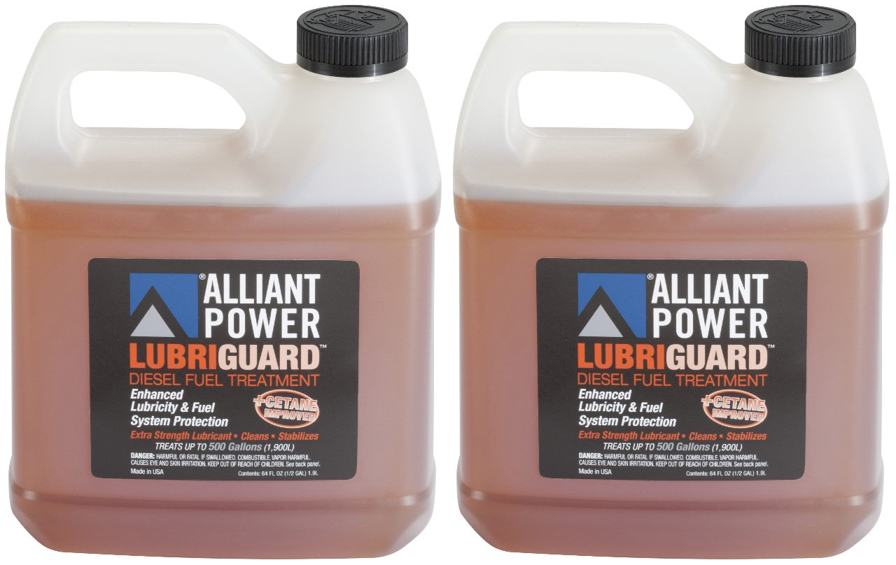 Alliant Power LUBRIGUARD Diesel Fuel Treatment - 2 Pack of 1/2 Gallons # AP0511 4333059435