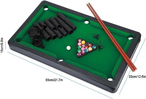 VGEBY1 Mini Juego de Billar, Mesa de Billar, Juguete, Billar Interior, Dobles, Juegos Dobles para niños: Amazon.es: Juguetes y juegos