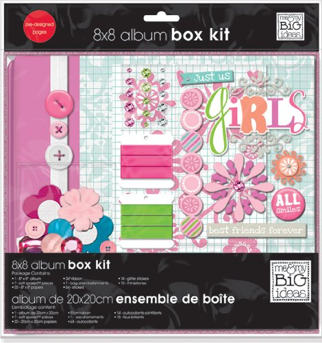 me & my BIG ideas Scrapbook Box Kit, The Ones I Love, 8-Inch by 8-Inch Me and My Big Ideas BOX-40