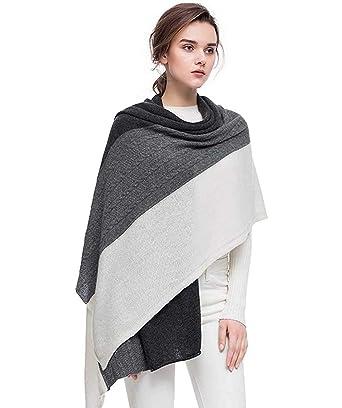 dd516aa0b Fincati Women Scarves 100% Goat Cashmere Winter New Wrap Pashmina 65''x30'