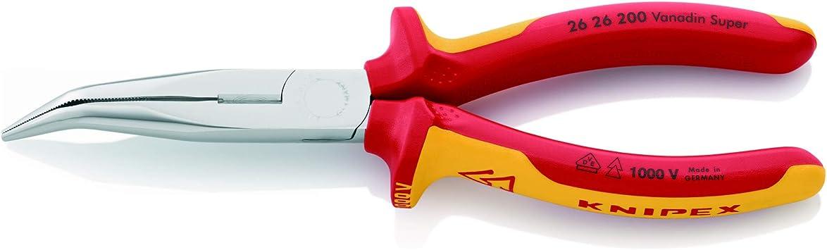 El.Installationsz.200mm verchromt VDE Knipex