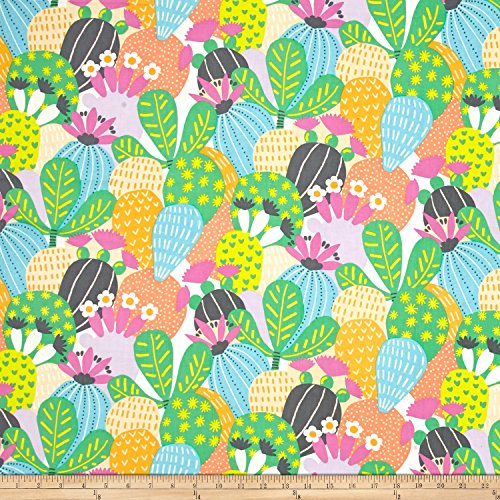 Alexander Henry Folklorico Desert Bloom Pastel Fabric by The Yard