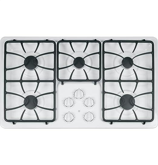 2 glass cooktop burner