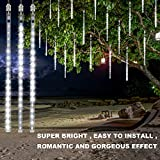 OMGAI LED Meteor Shower Rain Lights - Waterproof