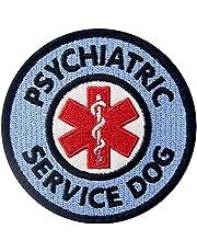 Service Dog Patch Service Animal Vests/Harnesses Applique Embroidered Fastener Hook & Loop Emblem