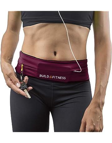 fc16e8f36b Running Belt, Fitness Belt, Flip Waist Belt with Key Clip, Fits iPhone 6