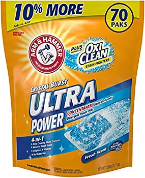 70-Ct Laundry Detergent Power Paks