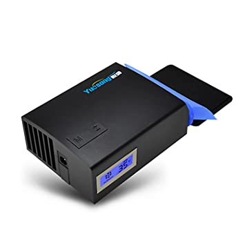 woner portátil ventilador de refrigeración ventilador de Super al vacío para ordenador portátil, Gaming mate, hacer tu ordenador portátil como Cool como un ...