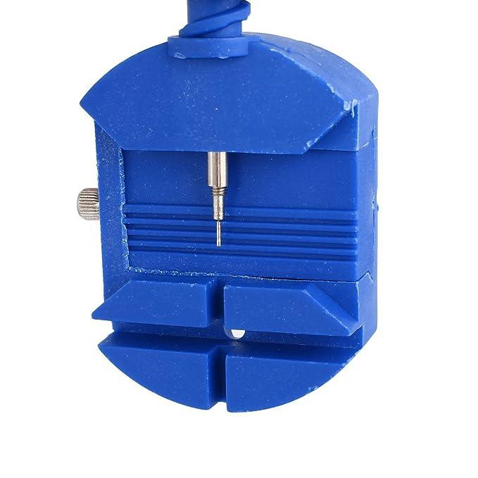 Titular eDealMax reloj del abrelatas del caso de la banda correa del Pin del removedor del ajustador de reparación del sistema de herramienta 6 en 1 ...