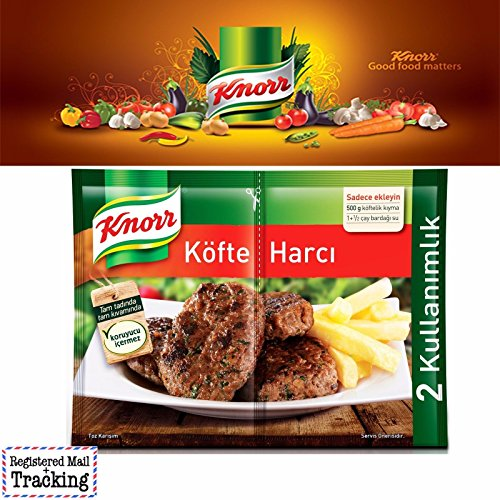 3 Pack (6 X 42,5gr) Knorr Turkish Meatball Mix Spice - Kofte Harci