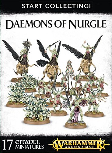 Игрушка Start Collecting! Daemons of Nurgle