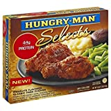 HUNGRY MAN SELECTS TV MESQUITE FLAVORED CLASSIC FRIED CHICKEN DINNER 1 LB PACK OF 3