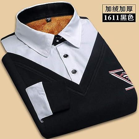 CSDM Camisa de Hombre Camisa de Invierno Hombre S Fashion Unique Diseño Grueso Camisas Cálidas Pathwork Hombre Camisa Social Camisas de Oficina Tamaño 5XL: Amazon.es: Hogar