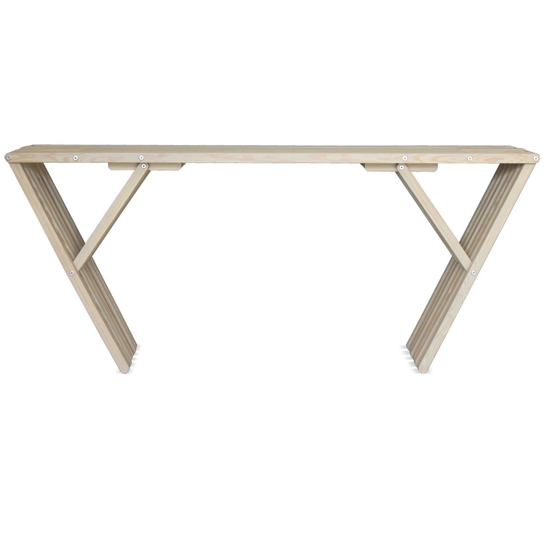 GloDea X70 Patio Side Table, Light Gray by GloDea