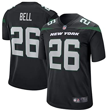 94370302 Amazon.com: Men's New York Jets #26 Le'Veon Bell Game Jersey: Clothing
