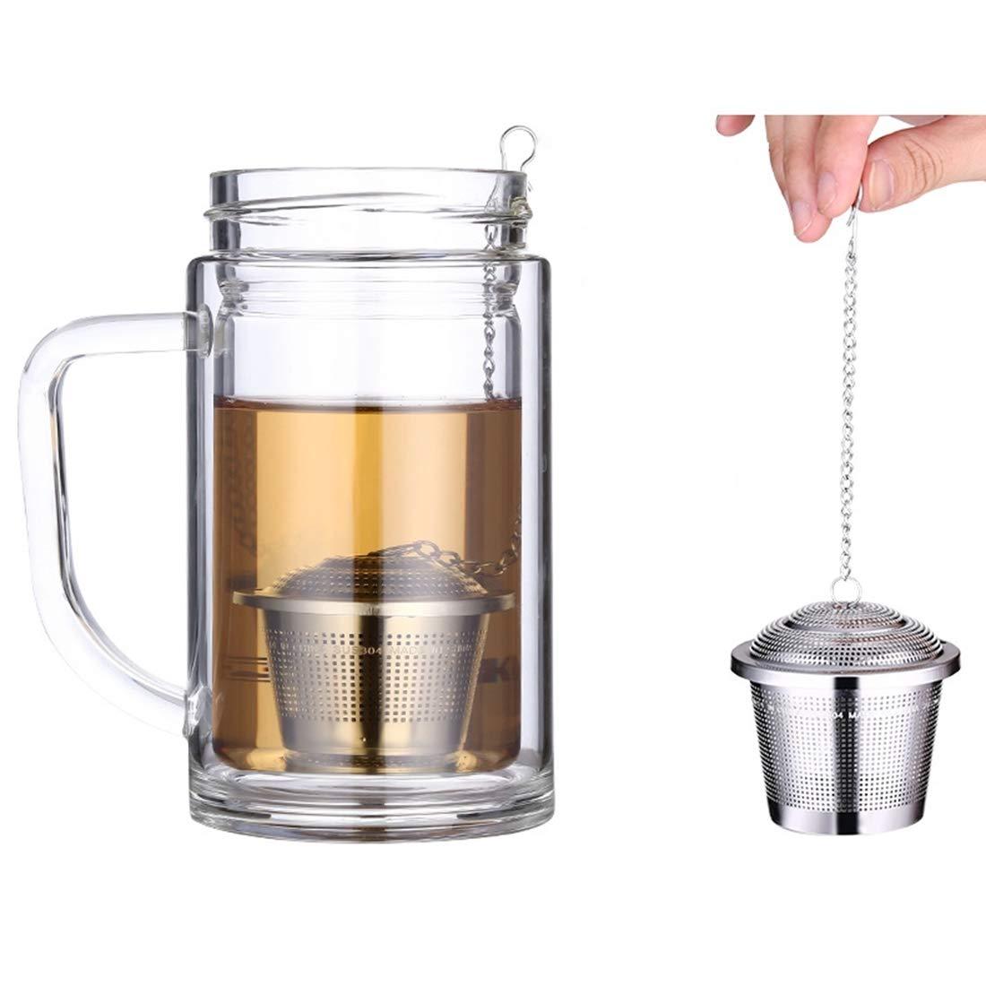 Accueil Boule à thé infusion en maille épice en acier inoxydable, filtre à lie, petit format: 4,5 x 4 cm Cuisine filtre à lie AiErBeiLu