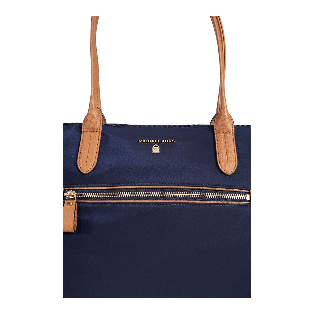 8209f527a83ddf Michael Kors Kelsey Nylon Large Zip Tote in Admiral: Handbags: Amazon.com