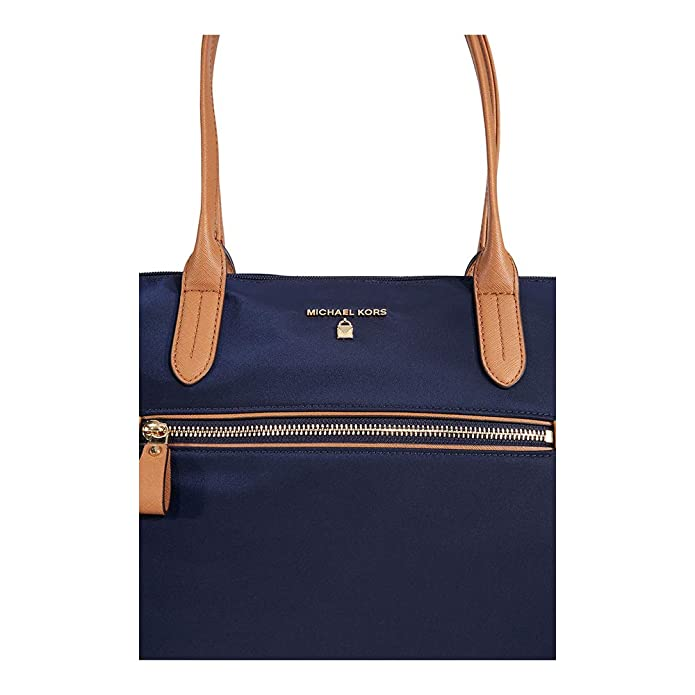 4b3df40686d60 Michael Kors Kelsey Nylon Large Zip Tote in Admiral  Handbags  Amazon.com