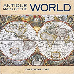 World Map For Sale Amazon. Amazon com  Antique Maps of the World Wall Calendar 2018 Art 9781786643445 Flame Tree Books