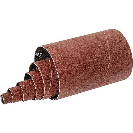 Grizzly H6674-2 Dia 3 pk. x 5-1//2 A//O Hard Sanding Sleeve 60 Grit