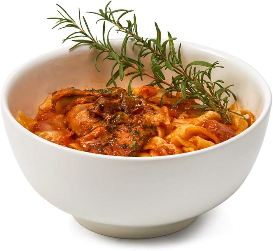 Soup Salad Snacks EZOWare Porcelain Bowls Set 7 inch 4pc Dessert Round Bowls for Cereal