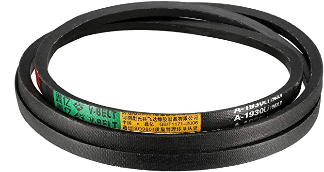uxcell A-50 Drive V-Belt Girth 50-inch Industrial Power Rubber Transmission Belt