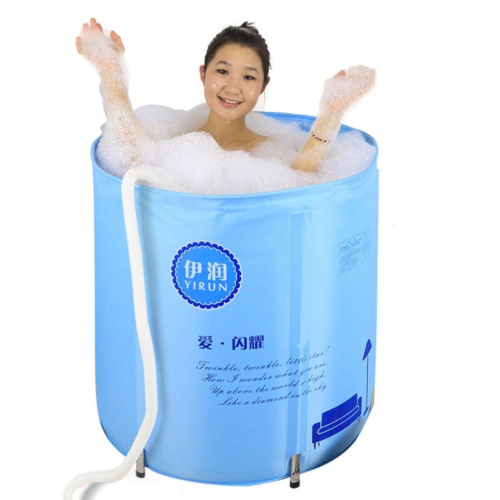 CHS@ 枕断熱は、風呂バケツインフレータブルチューブ大人を持ち上げることができます バスタブ B07QLKJLBS