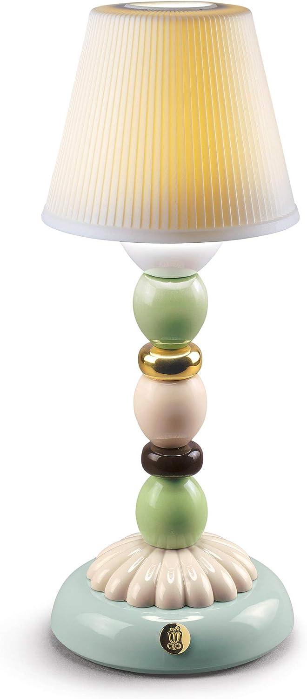 LLADRÓ Lámpara De Mesa Firefly Palm Otoño Dorado. Verde Y Azul. Lámpara de Porcelana.: Amazon.es: Juguetes y juegos