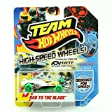 BAD TO THE BLADE HIGH-SPEED WHEELS Team Hot Wheels 2011 Designed For Speed Vehicle (X0119)