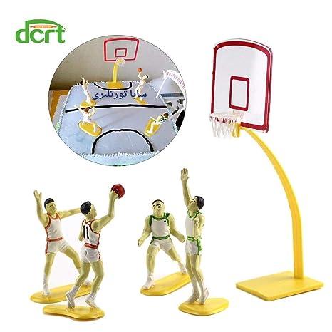Amazon.com: 1 pieza 1 juego de baloncesto equipo escena ...