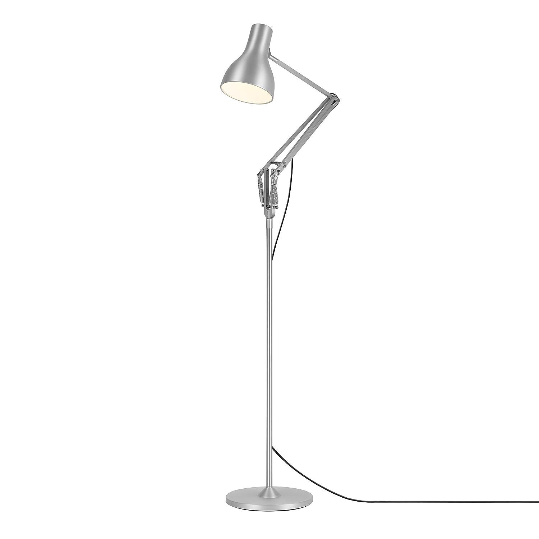 Anglepoise Type 75 Floor Lamp Aluminium Black