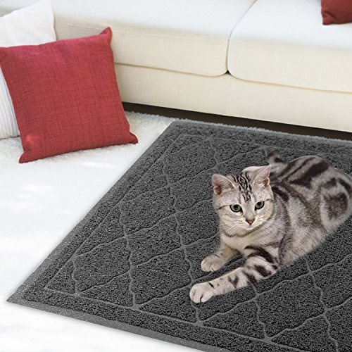 ALTMAN Cat Litter Mat Non-Slip Jumbo Size(38'' x 23'') Kitty Mat, Traps Litter from Box and Paws, Soft on Sensitive Paws and Easy to Clean by ALTMAN (Image #7)