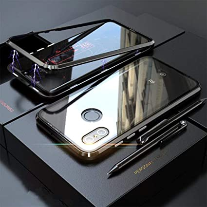 Archist Glass Luxury Magnet Case with Frame Shock: Amazon in