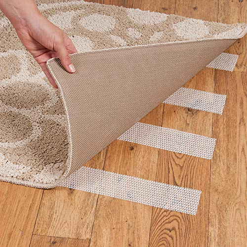 Roberts 50-580 Roll of Indoor Traction Anti-Slip Gripper Rug Strip Tape for Small Rugs, 2-1/2 Inch by 25 Feet from Roberts