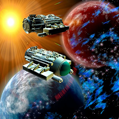 Spaceships In Universe Illustrations Poster Print 24x 36 Print 24x 36