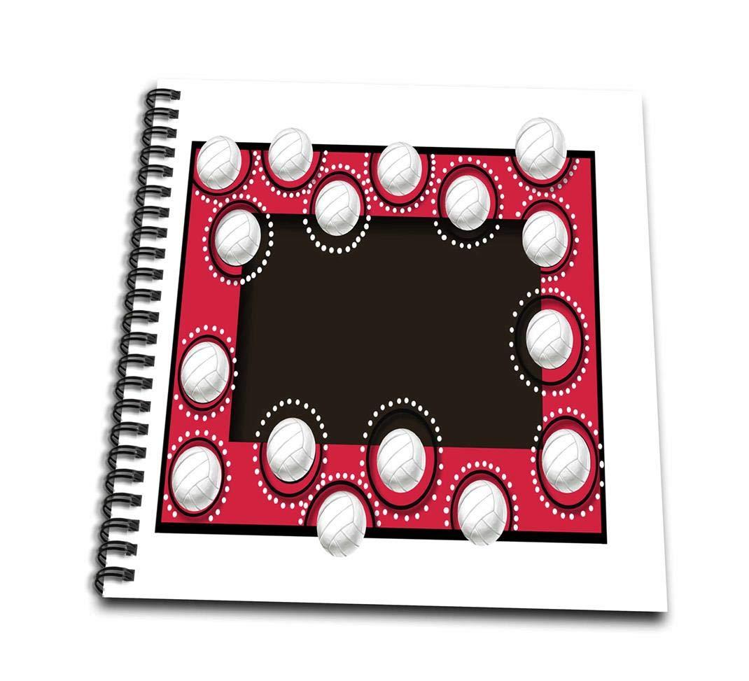 3dRosa Volley-, rot-Memory Buch 12 12 12 Zoll (DB 108441 _ 2), 30,5 x 30,5 cm B00BWCTHC2 | Konzentrieren Sie sich auf das Babyleben  | Ausgezeichnete Leistung  | Genialität  3d7003