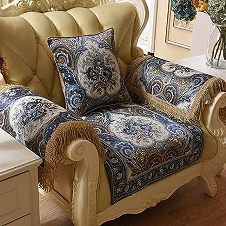 Americano del sofá amortiguador de la tela de lujo del ...